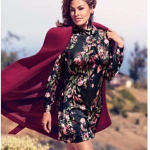 ⚡NWT⚡NY&Co Eva Mendes Floral Silk Dress